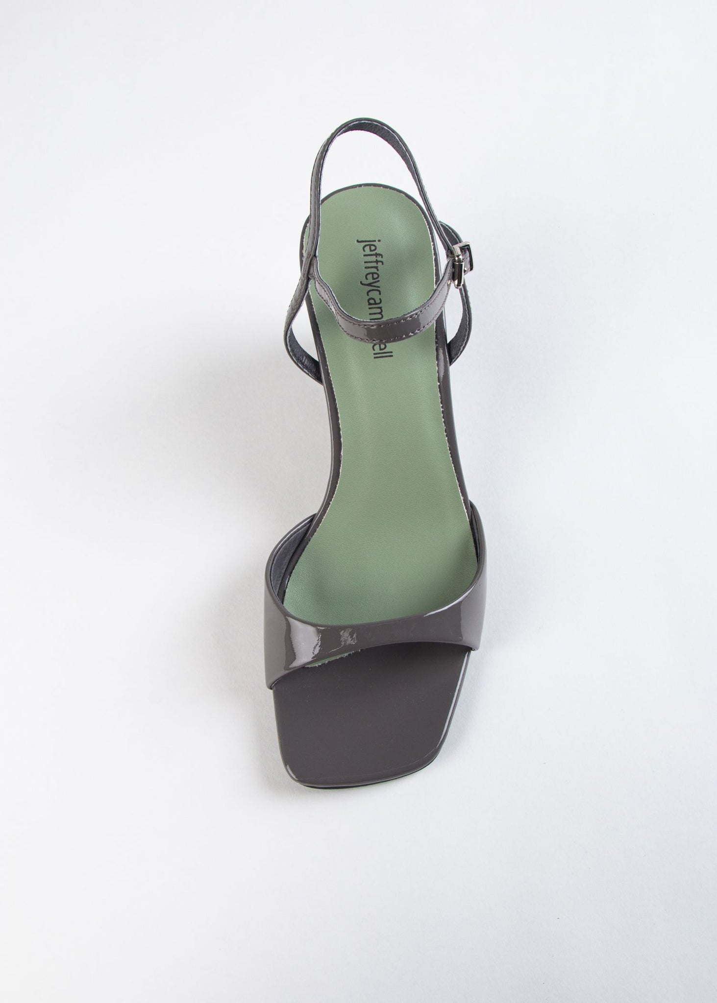 ENTREE PATENT WEDGE SANDAL