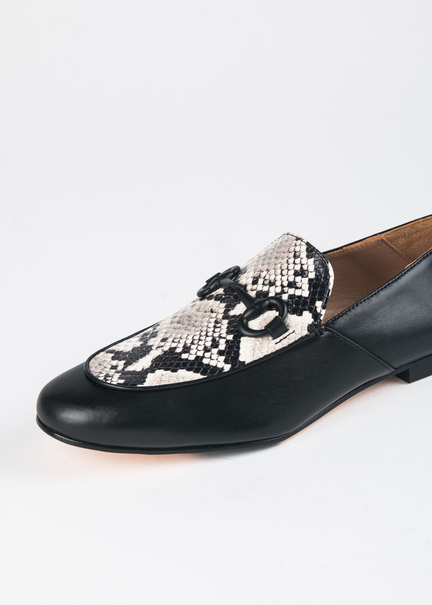 TWO TONE LOAFER WITH BIT