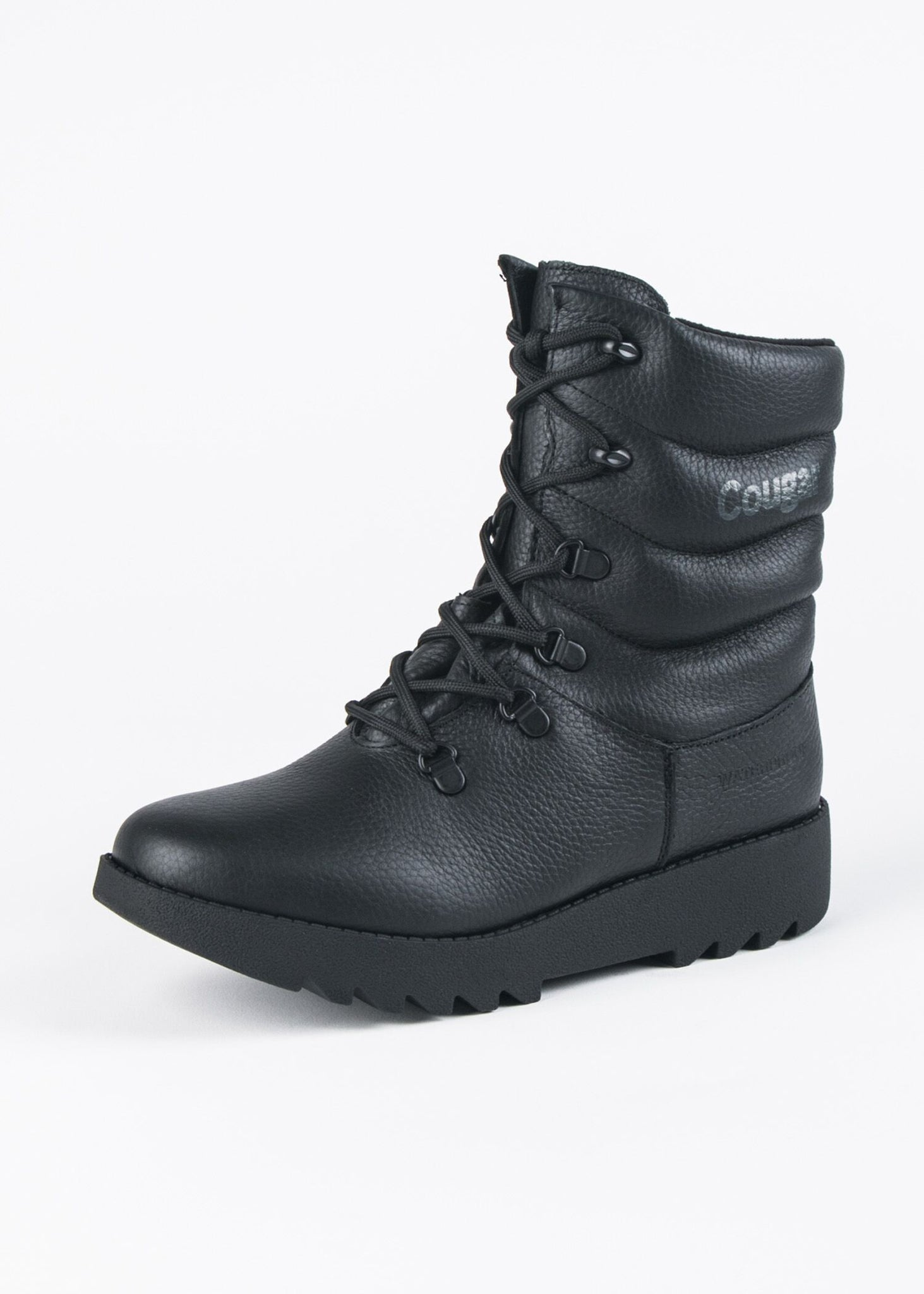 BLACKOUT WATERPROOF LACE UP BOOT