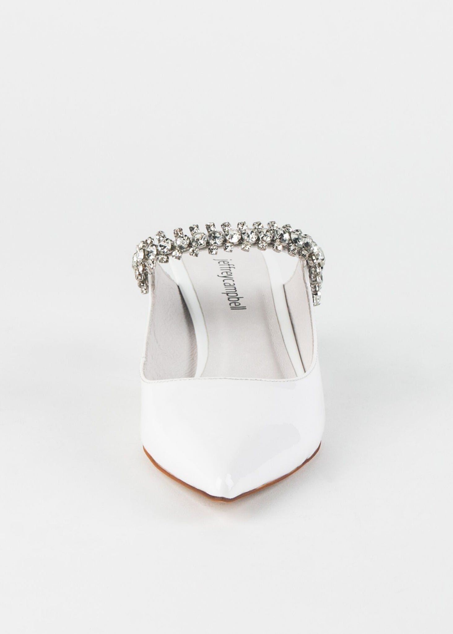 LORI POINTED TOE JEWELED SLIDE