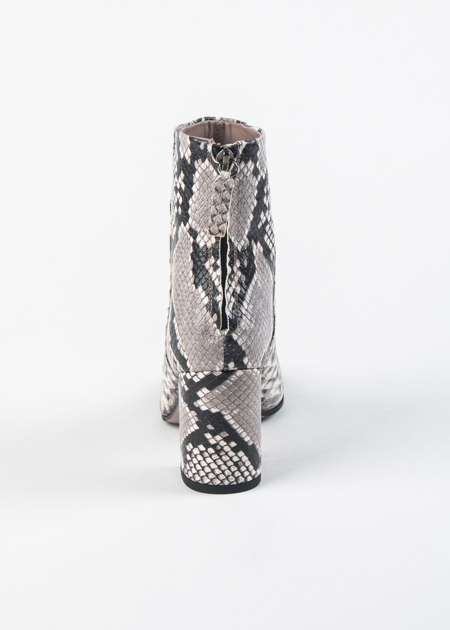 TAPERED ROUND TOE SNAKESKIN CLASSIC BOOT