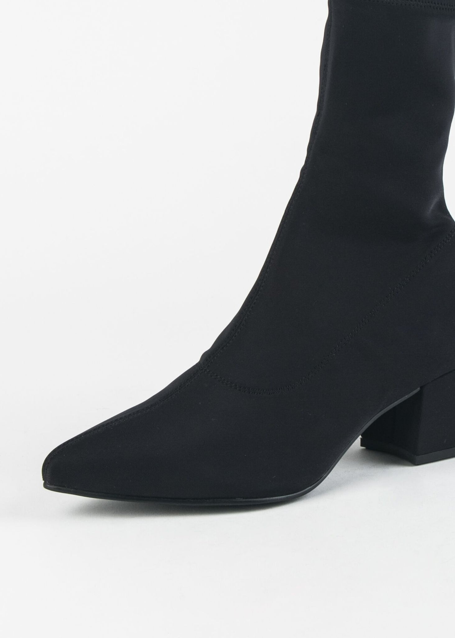 MYA-539 POINTED TOE SOCK BOOT