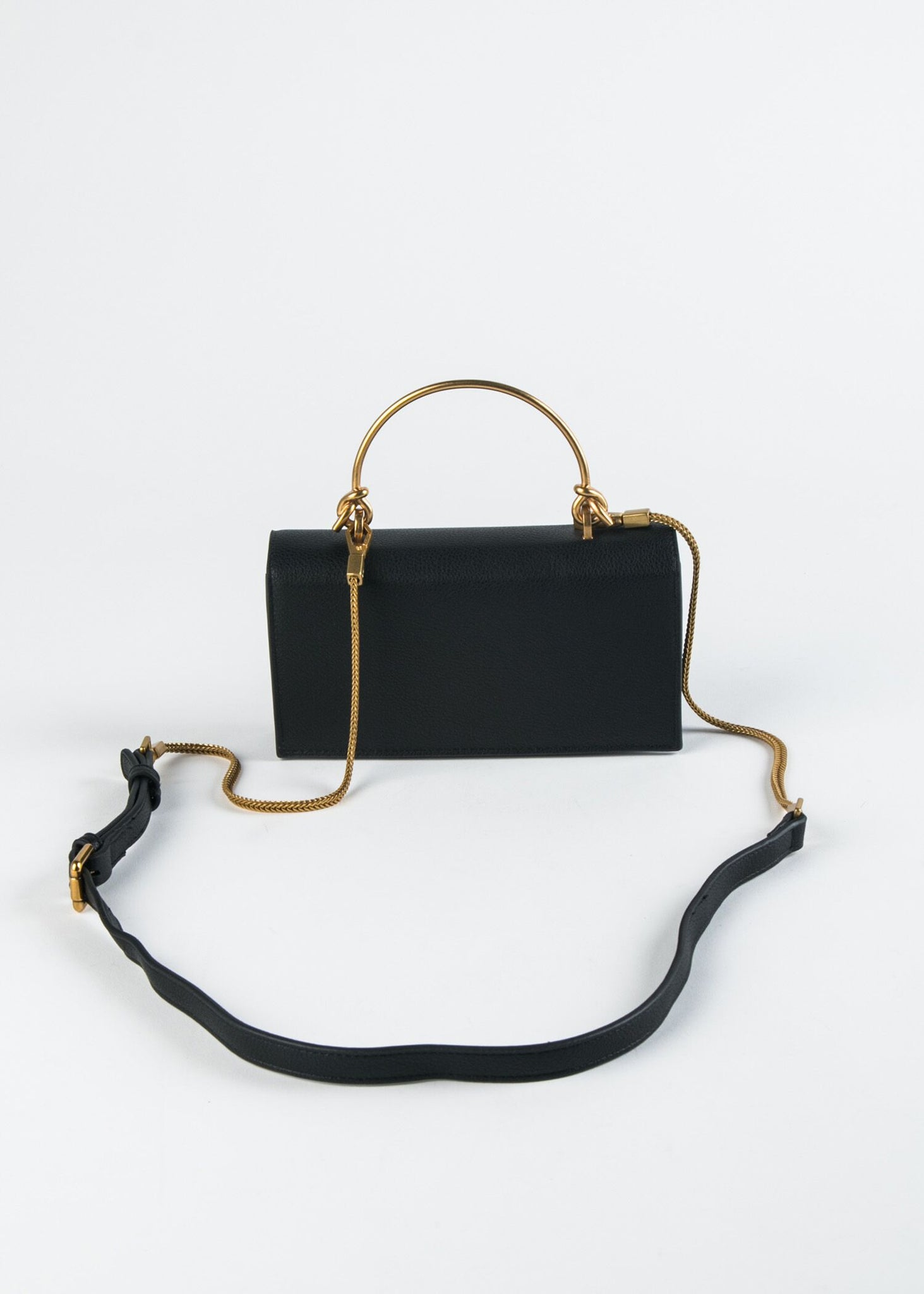 KNOT HANDLE CROSSBODY
