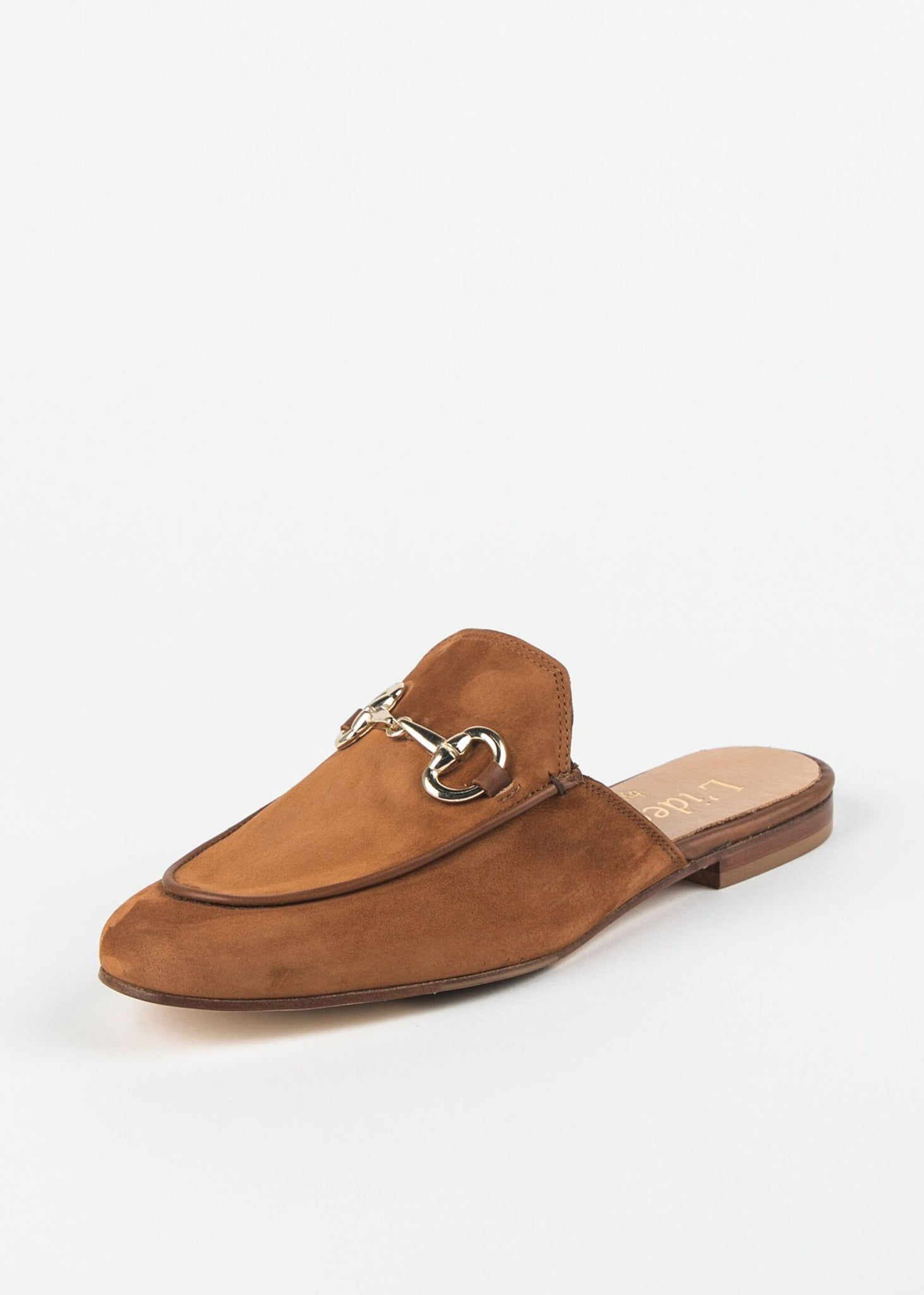 SUEDE MULE WITH BIT