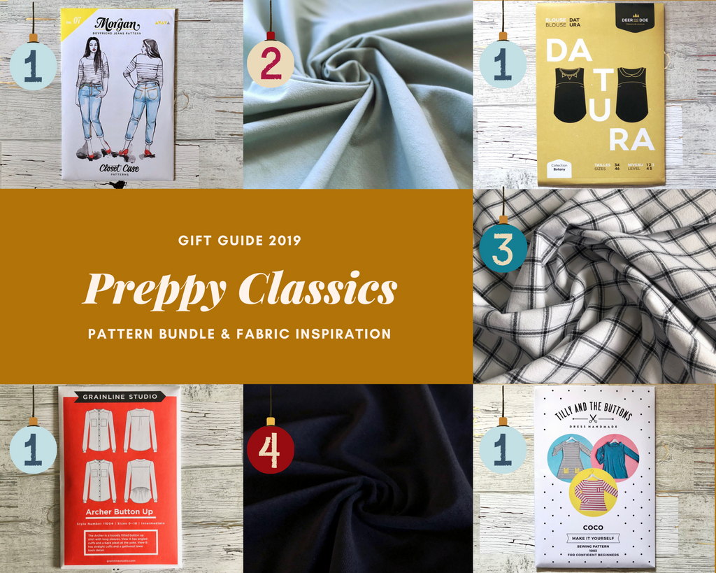 Preppy Classics Sewing Gift Guide