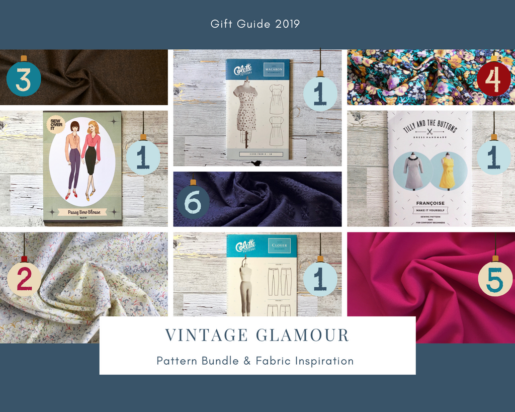Vintage Glamor Sewing Gift Guide