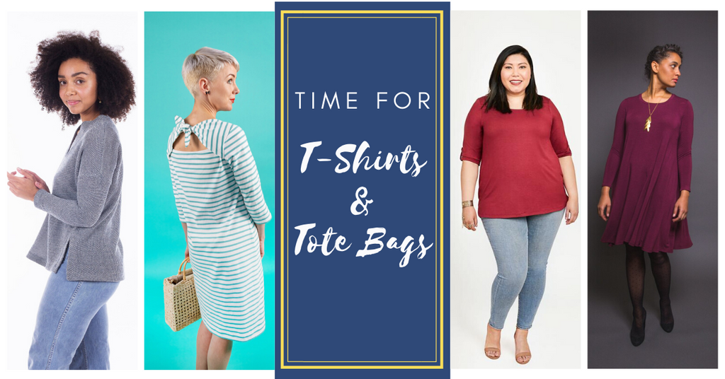 June is Perfect for Sewing Comfort Food: T-Shirts and Tote ...