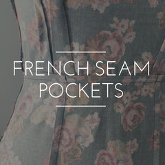 French Seams on Inseam Pockets