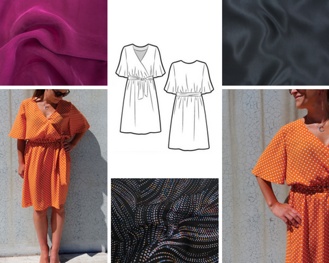 Bonita Wrap Dress Mood Board