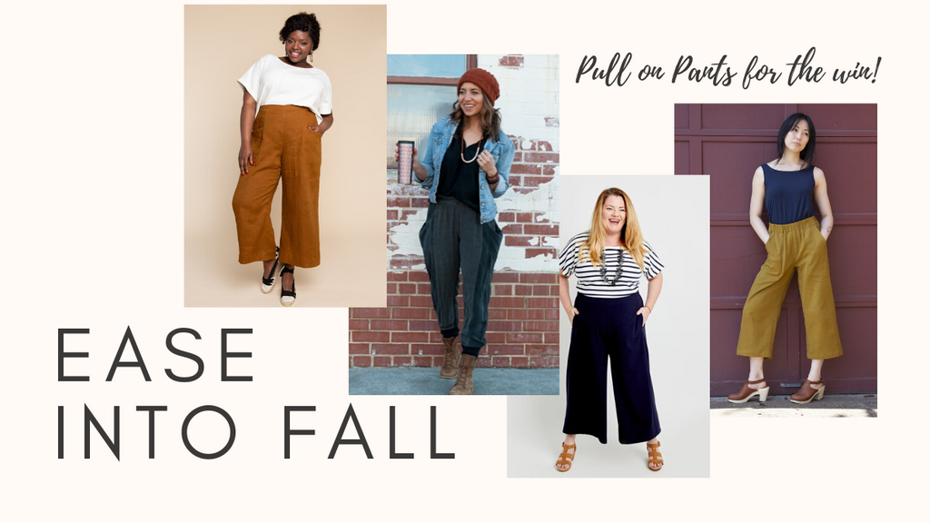 Ease into Fall with Oh-Sew-Comfortable Pull-On Pants