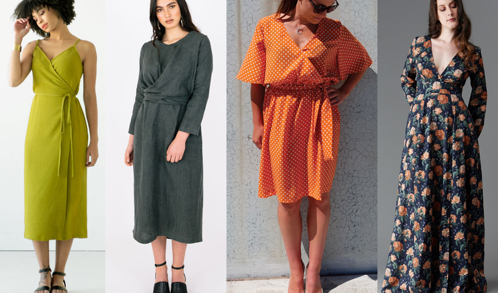 Wrap Dresses - November 2019 - Needle Sharp Subscription Boxes