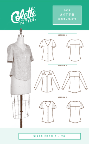 Colette Patterns Aster Shirt
