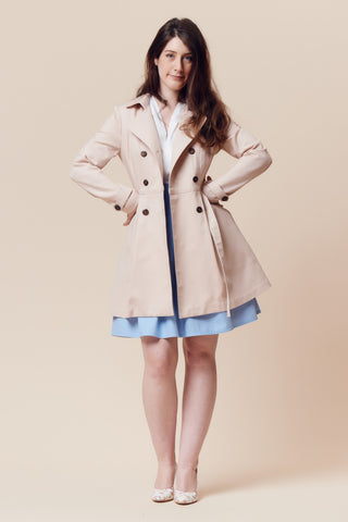 Embrace Slow Sewing This Winter With Our Trench Coat Kits