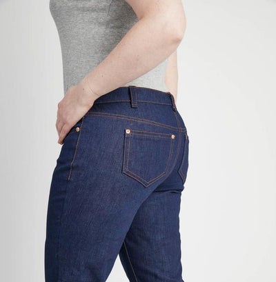 Jeans Boxes - Indigo Broken Twill Ames Jeans