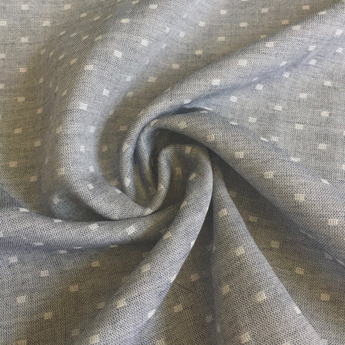 Kaufman Chambray Dobby Double Gauze Fabric by the Yard