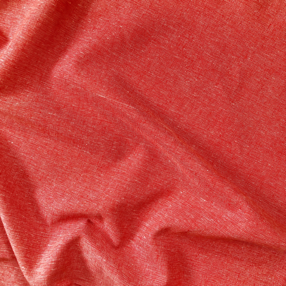 Flame Red Essex Linen