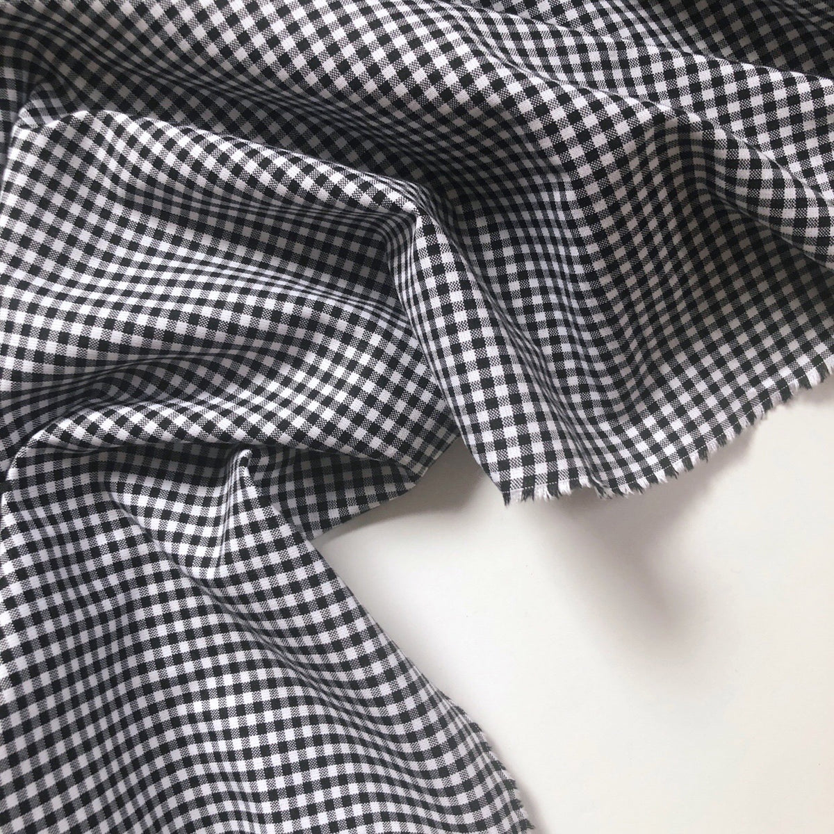 Black Carolina Gingham