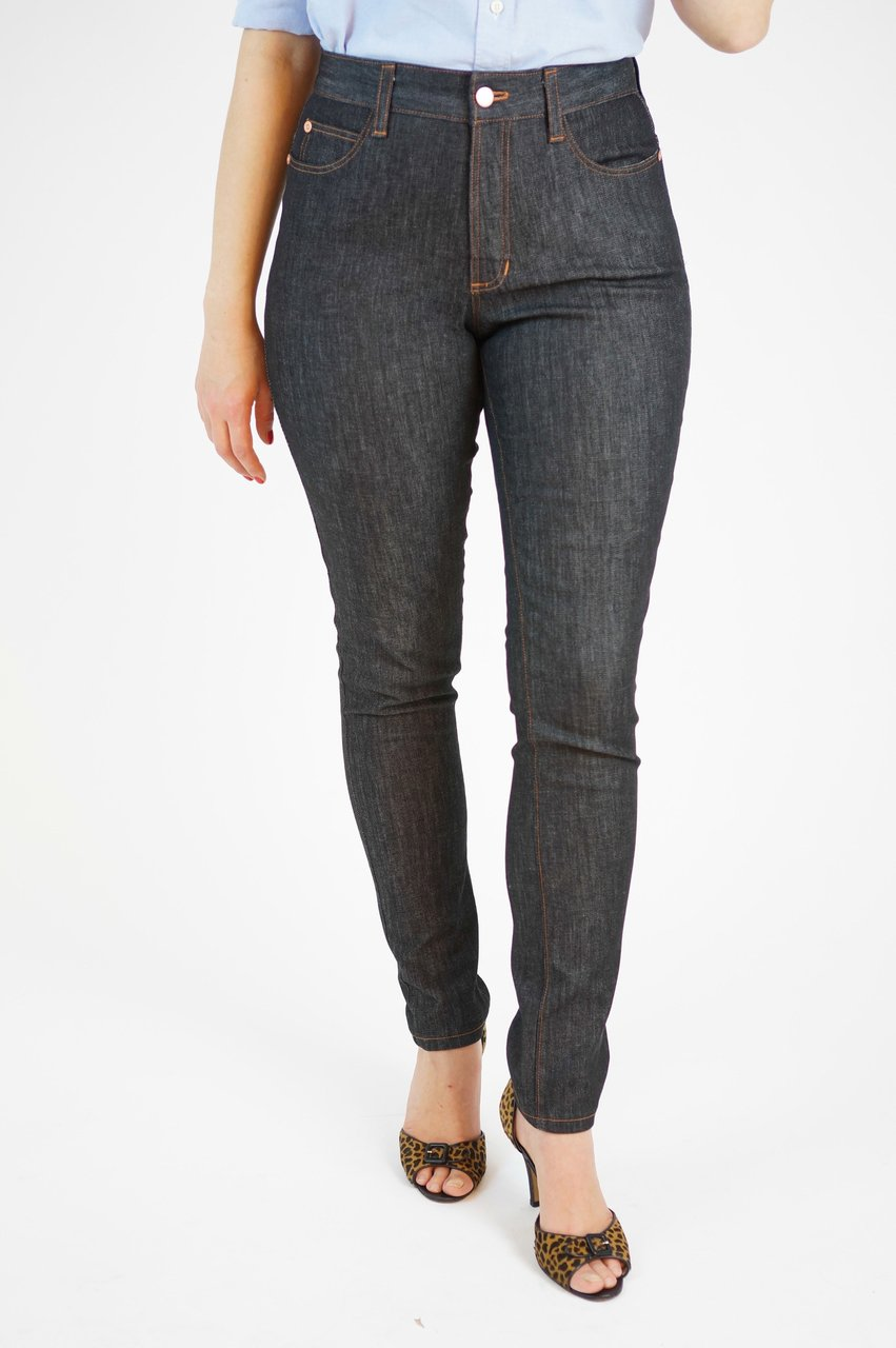 Jeans Boxes - Stretch Indigo Slub Ginger Jeans