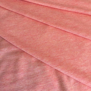 a47ea8c70f7 ... Heather Peach Featherweight Bamboo Jersey Fabric by the Yard ...