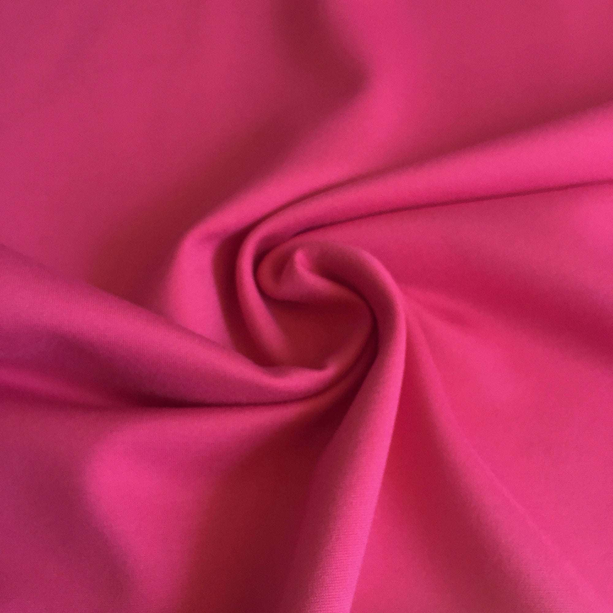 ccb8562155b Hot Pink Ponte de Roma Fabric by the Yard