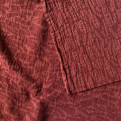 Red Willa Cotton Viscose Jacquard