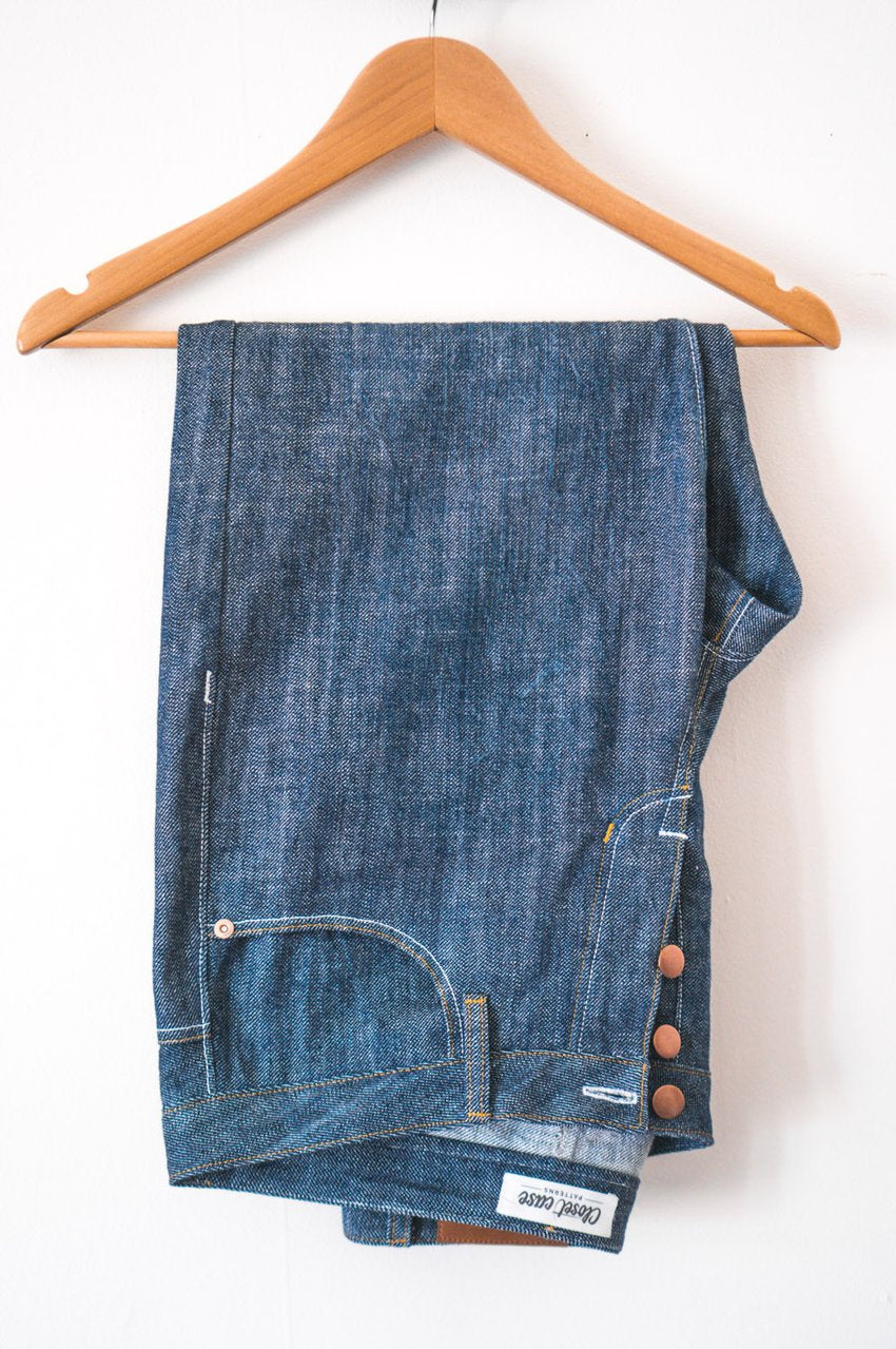Jeans Boxes - Mustard Cone Mills Morgan Jeans