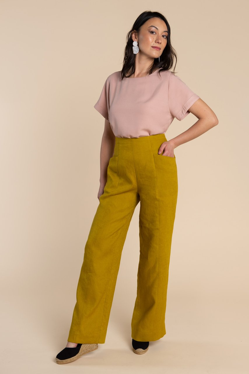 Stay Home & Sew: Pietra Pants