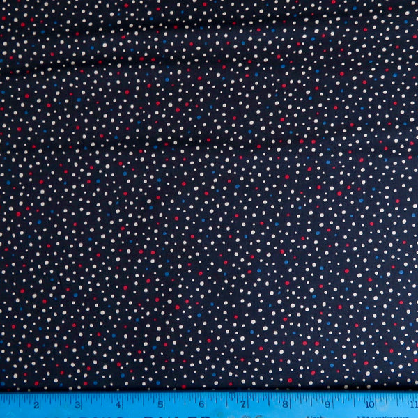 Kaufman Sevenberry Petit Basics Dots Cotton Lawn