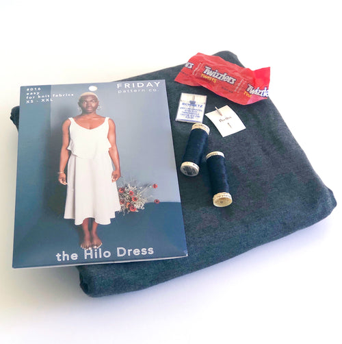 Stay Home & Sew: Hilo Dress