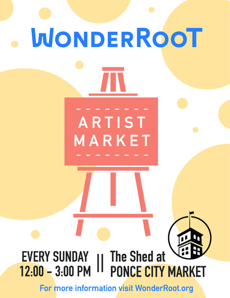 Artist Market at Ponce City Market - The Shed on the Beltline