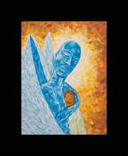 Angel Support II Painting - Print on Canvas