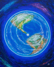 Earth Energy III Painting - Print