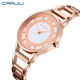 Luxury Rose Waterproof Wristwatch