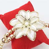 Pearl Flower Bracelet Watches