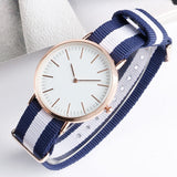 Fashion Rose Golden Case D Quartz Watches