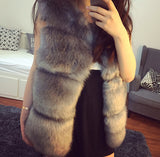 High-Grade Faux Fur Coat