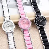 Imitation Ceramic Bracelet Watch