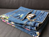 Flower Embroidery Jean