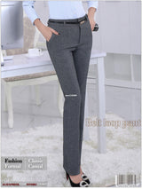 Mid Waist Belt Loop Pant