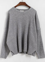 O-neck Long-sleeve Sweaters and pullovers