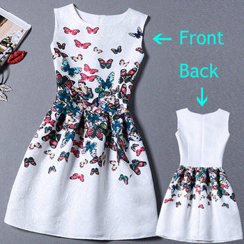 Sleeveless Casual printed Dress