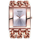 Square Dial Bangle Bracelet Watch