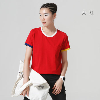 Cotton Casual O-Neck T-Shirt