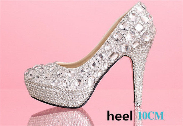 Handmade Noble Diamond Pumps