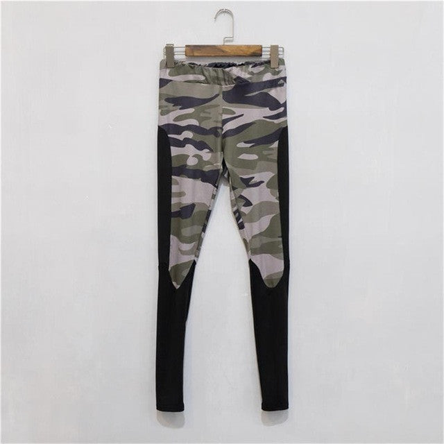 Casual Camouflage Femme Legging