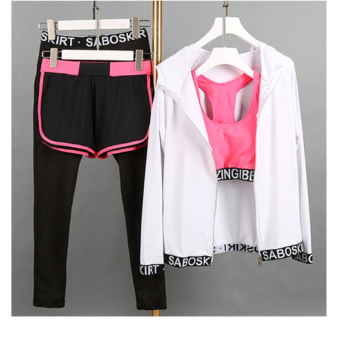 Sport Suit Womens Yoga Set
