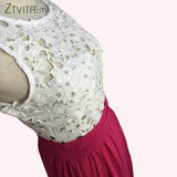 Lace Chiffon Elegant Dress