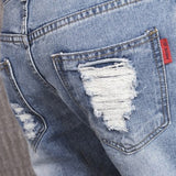 Casual Denim Ripped Jean