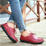 Leather 8 Colors Loafers