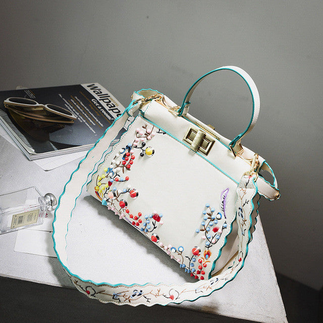 Embroidered Elegant Bag